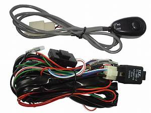 Universal Fog Light Wiring Harness  U0026 Switch Kit
