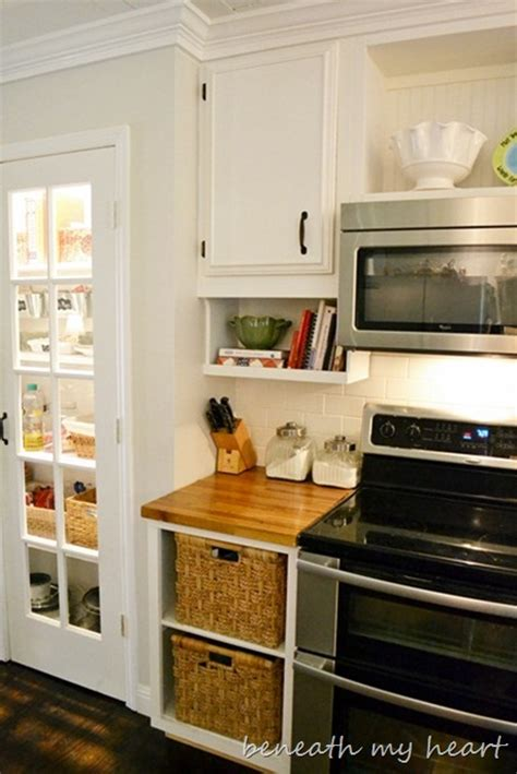 kitchen pantry cabinet furniture our diy the cabinet cook book holder beneath my