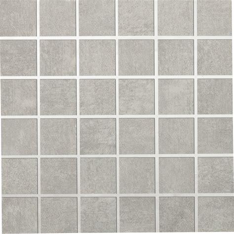 cuisine grise et blanc mosaïque sol et mur tresor gris leroy merlin