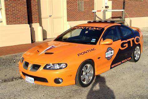 2005 Pontiac Gto Coupe Pace Car