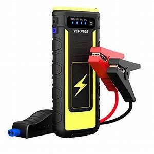 Vetomile 800a Peak Car Jump Starter Booster Portable