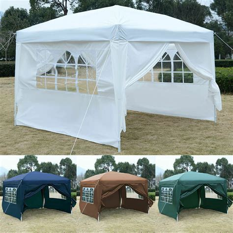 goplus ez pop tent gazebo wedding party canopy shelter carry bag ebay