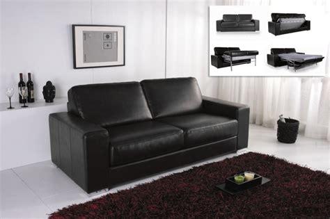 canapé cuir design pas cher canape convertible modulo cuir noir canapé topkoo