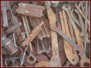 Comment Enlever De La Rouille Sur Du Carrelage : comment enlever la rouille sur vos outils ~ Melissatoandfro.com Idées de Décoration