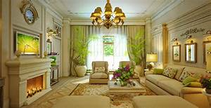 Design Interior Traditional Living Room By