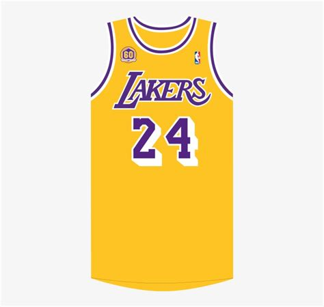 showtime throwback lakers jersey  background png image