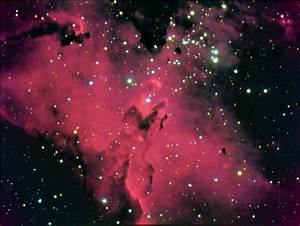 Eagle Nebula Information - Pics about space
