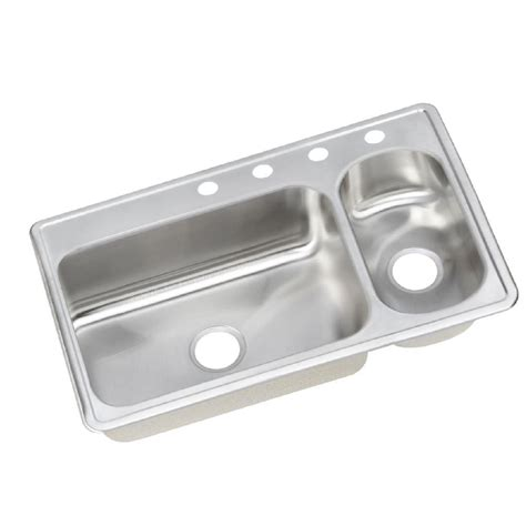 top mount stainless steel kitchen sinks top mount stainless steel 33 in 4 bowl 9488
