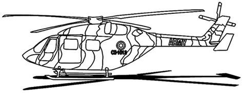 helikopter wojskowy  druku