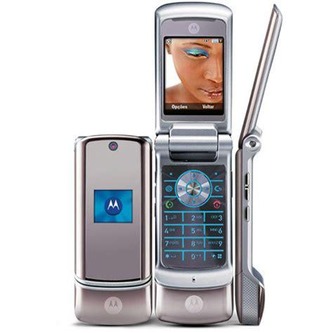 krzr cell phone motorola krzr k1 silver unlocked gsm slim mobile phone