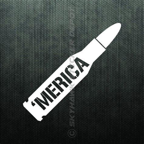 jeep sticker ideas merica bullet bumper sticker vinyl decal america car truck