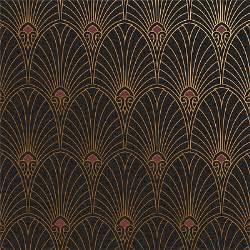 Papier Peint Autocollant Vintage by Art Deco Wallpaper And Borders By Bradbury Bradbury