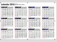 Kalender 2019 Vektor Lengkap Tanggal Merah Hijriyah Jawa