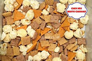 white cheddar chex mix