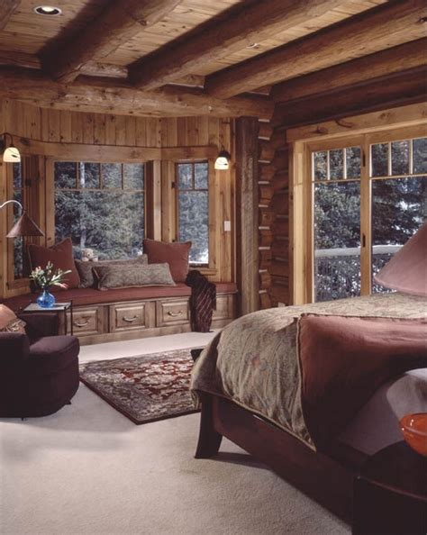 warm  cozy cabin bedroom bebe love  cabin