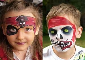Zombie Schminken Bilder : pirat schminken fasching ideen f r frau mann und kind ~ Frokenaadalensverden.com Haus und Dekorationen