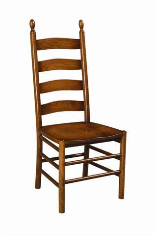 shaker style ladder  chair  dutchcrafters amish