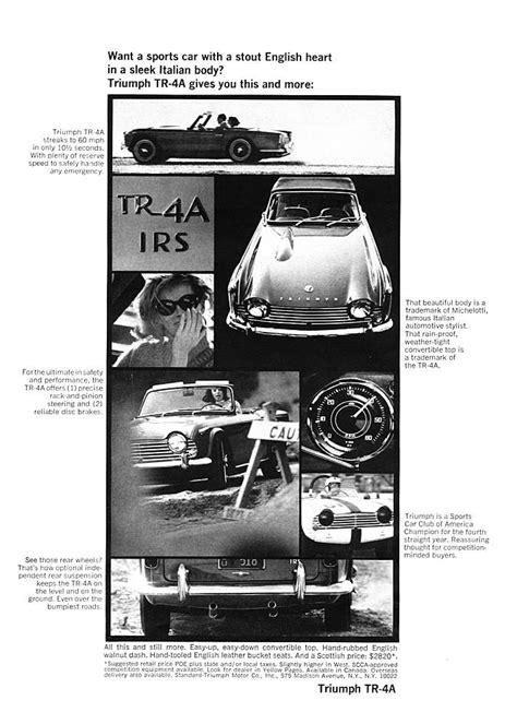 20 best Triumph Vintage Ads images on Pinterest