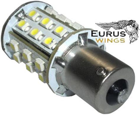 hqrp ba15s led bulb replacement for 93 1141 1156 forest