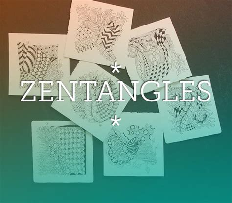 zentangles abstract drawing technique  quilting