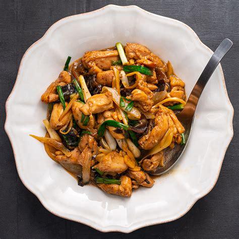 thai chicken ginger stir fry marions kitchen
