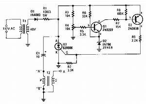 capacitor discharge ignition circuit diagram capacitor With capacitordischargeignitioncircuit basiccircuit circuit diagram