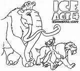 Coloring Ice Age Manny Azcoloring Credit Larger sketch template