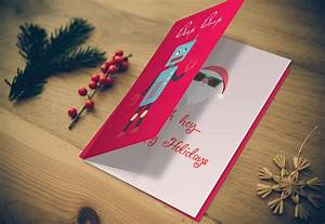 Creative Print Design Greeting Card Mockup Graphic Photoshop Psd Template
