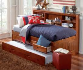 merlot twin size bookcase captain s day bed with trundle