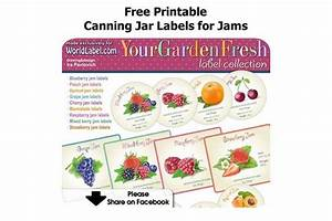 free printable canning jar labels for jams With home canning labels