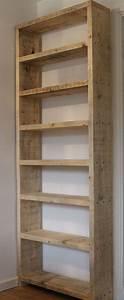 Estantes de paletes de madeira reciclados [fotos] - Ideias