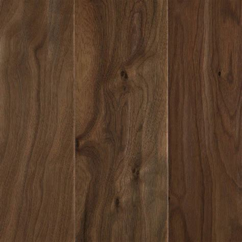 walnut wood flooring mohawk natural walnut 1 2 in t x 5 25 in w x random length soft scraped engineered uniclic