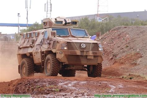 Paramount Group Mbombe 4 Mrap 4x4 Vehicle In Live