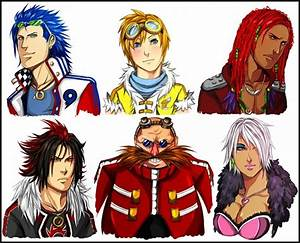 SEGA Sonic characters in human form   They're human now ...