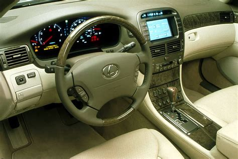 lexus ls430 interior 2001 lexus ls 430 reviews specs and prices cars com
