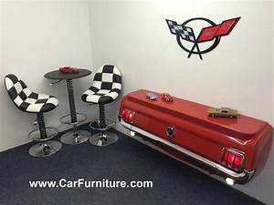 1965 Ford Mustang Rear Console Table – CarFurniture.com