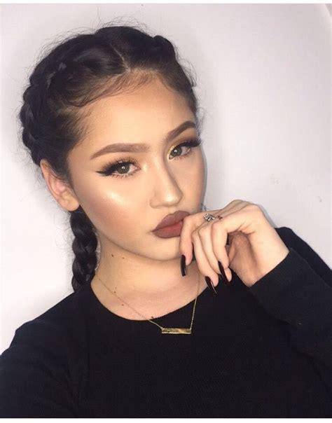 instagram bbyedith girls makeup glam makeup nyx lip pencil
