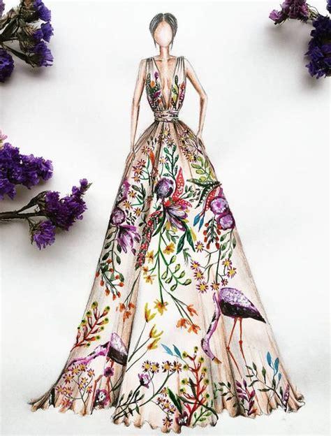 Fashion Design Dresses by Best 25 Drawing Fashion Ideas On Fashion