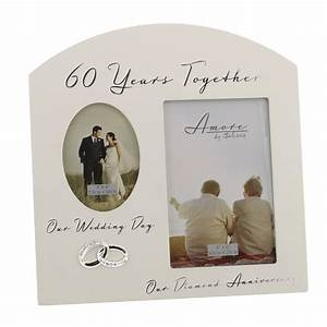 60th diamond wedding anniversary gift ideas double wooden With 60 wedding anniversary gift