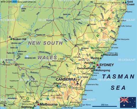 south wales map  south wales map  australia
