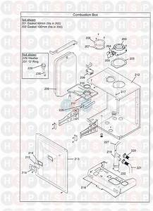 Potterton Gold System 28 He Appliance Diagram  Combustion