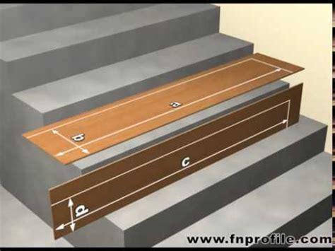fn lock  stair treppenabschlussprofile youtube