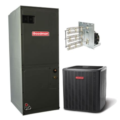 heat and air units prices goodman 14 seer 2 5 ton electric heat split system 2 5