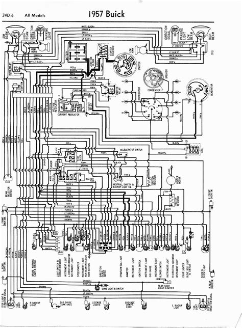 1964 Gm Engine Wiring Harnes Diagram by 1957 Buick Wiring Diagram Wiring Library