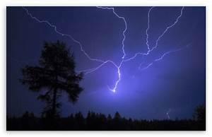 Night Lightning 4K HD Desktop Wallpaper for 4K Ultra HD TV ...