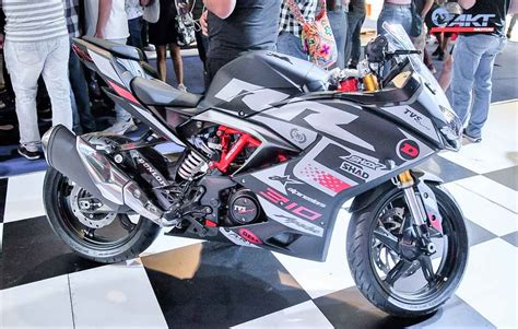 Tvs Apache Rr 310 2019 by Tvs Unveils Sportier Edition Of Apache Rr 310 At 2019