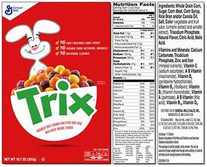 Trix Nutrition Facts – Besto Blog