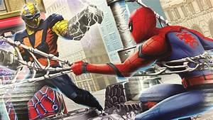 Spiderman Homecoming Spider Man vs S... Wallpaper #43800