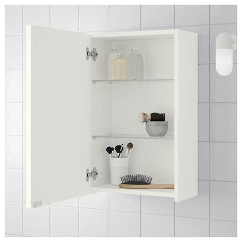 bathroom wall cabinets ikea lillången wall cabinet white 40x21x64 cm ikea