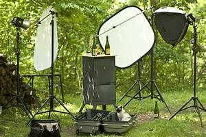 a beautiful morning for beer when it clicks With outdoor product photography lighting